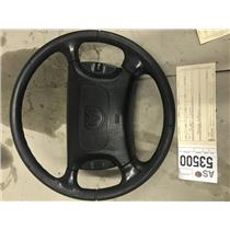 1998-2002 Dodge Cummins 3500 black steering wheel as53500