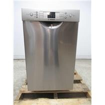 "Bosch 300 Series 18"" SS 46dBA AquaStop Plus Built-In-Dishwasher SPE53U55UC"