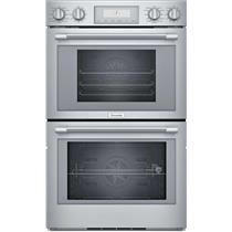 "Thermador Professional Series 30"" LED SoftClose Wi-Fi Double Wall Oven PODS302W (4)"