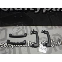 2007 - 2017 FORD EXPEDITION MAX LIMITED GRAB HANDLES BLACK OEM