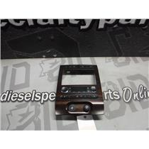 2007 - 2009 FORD EXPEDITION MAX CENTER DASH CLIMATE HEAT AC SEAT INFO WOODGRAIN