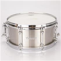 "Dunnett Classic 6.5"" x 14"" Titanium Snare Drum Raw Finish #36929"