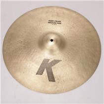 "19"" Zildjian K Series Dark Crash Medium Thin Cymbal #36942"