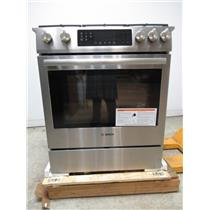 "Bosch 800 Series 30"" 18000 BTU Burner 4.8 cu. ft Slide-In Gas Range HGI8054UC (15)"