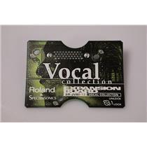 Roland SR-JV80-13 Vocal Collection Expansion Board Sound Card SRJV8013 #37020