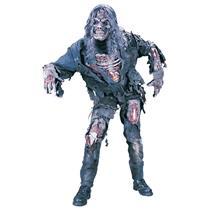 3D Zombie Walking Dead Adult Costume
