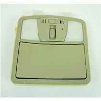 14-17 Infiniti QX70 2013 Infiniti FX37 Overhead Console with Sunroof Switch Mic