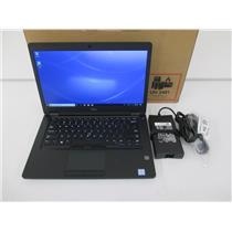 """Dell 4D7J7 Latitude 5491 -14""""- Core i7-8850H 2.6GHZ 8GB 256GB NVMe W10P W/WARR"""