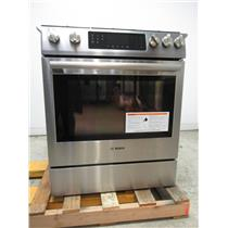 "Bosch 800 Series 30"" 18000 BTU Burner 4.8 cu. ft Slide-In Gas Range HGI8054UC (12)"