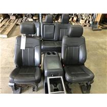 2011-2016 Ford F350 Platinum seats and centre console tag as72670