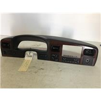 2005-2007 Ford f350 Lariat woodgrain dash bezel with climate control as72690