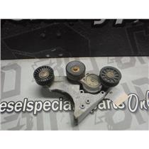 1995 - 1997 FORD 7.3 POWERSTROKE DIESEL ALTENATOR BRACKET PULLEY F5TA10039 OEM