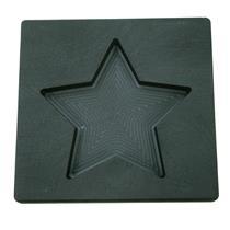 10 oz Gold STAR Shape High Density Graphite Mold 5oz Silver Bar-USA Made