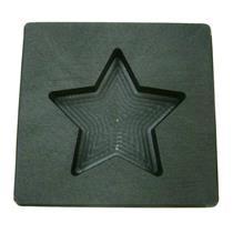 3 oz Gold Texas STAR Shape High Density Graphite Mold 1.5oz Silver Bar-USA Made