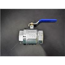 Used: MCD Industrial 2 Brass Ball Shut-off Valve NPT 600 WOG 90-Day Warranty