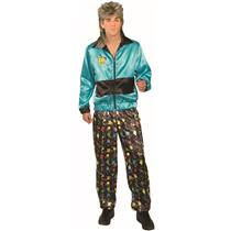 80's Men's Track Suit Retro Adult Costume Standard