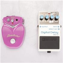 Boss Danelectro DD-3 Digital Delay Chili Dog Octave Guitar Effect Pedals #37320