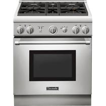 """NIB Thermador 30"""" 4Burner Pro-Style Gas Range Convection Oven PRG304GH Stainless"""