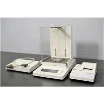 Sartorius MSE225S-000-DA Balance Scale w/ Printer YDP10-0CE & Controller Hub
