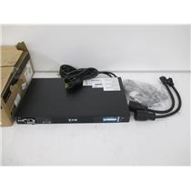 Eaton EATS120 1U Horizontal 10 Outlets eATS ePDU EATON ATS 20A - NEW, OPEN BOX