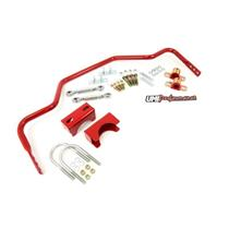 "78-88 G-Body 1"" Tubular Rear Sway Bar Chassis Mounted 3.250"" Rear End - Red"