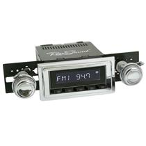 RetroSound Laguna Black Radio 64-65 Cutlass Aux In