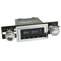 RetroSound Laguna Black Radio 64-67 GTO Aux In