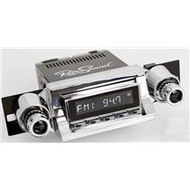 RetroSound 1957 Chevy Bel Air Hermosa Radio Bluetooth Aux In USB