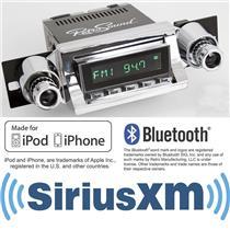 RetroSound 1957 Chevy Bel Air Long Beach Radio iPhone Bluetooth SiriusXM Aux In
