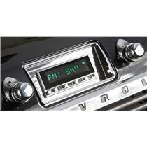 RetroSound 47-53 Chevy Pickup Truck Hermosa Radio Bluetooth Aux In USB