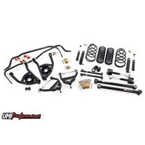 "1965 1966 Chevelle UMI Performance Suspension Kit 2"" Drop Black Stage 3"