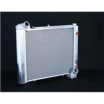 "1961-62 Corvette, CF Automatic 2 Row 1"" Tube, Natural Aluminum Radiator"