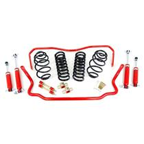 "1964-66 Chevelle UMI Performance Suspension Kit Handling 2"" Drop Red Stage 1"