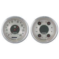 1947-1953 Chevy GM Pick-Up Direct Fit Gauge American Nickel CT47AN52
