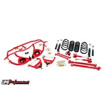 "1964 Chevelle UMI Performance Handling Suspension Kit 1"" Drop Red Stage 3"