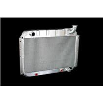 "1955-60 Corvette, DF Automatic 2 Row 1"" Tube, Natural Aluminum Radiator"