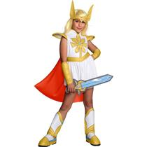 She Ra Princess Of Power Girls Costume Child Medium 8-10