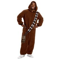 Star Wars Chewbacca Jumpsuit Pajama Costume Size Standard