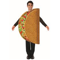Taco Bout It Adult Mexican Food Costume One Size