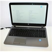 "HP Probook 450 G2 15.6"" Intel Core i5 5th Gen 2.2GHz 8GB 500GB WiFi BT DVD NOBAT"