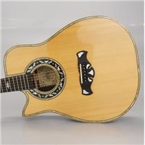 1981 Bozo Bell Western Cutaway Left-Handed Acoustic Guitar Carlos Rios #37400
