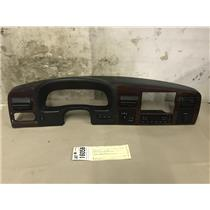 2005-2007 Ford f350 Lariat woodgrain dash bezel with climate control at16058