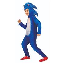 Sonic The Hedgehog Movie Child Deluxe Costume Large 12-14