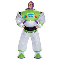 Disney Buzz Lightyear Toy Story Inflatable Adult Costume One Size