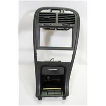 2003-2005 Kia Optima Radio Climate Control Dash Trim Bezel with Storage Vents