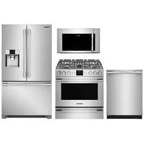 NIB Frigidaire Professional Kitchen: Refrigerator & Range Microwave & Dishwasher