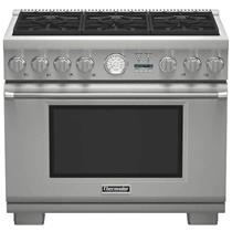 NIB Thermador 36'' 6 Sealed Star Burners Pro-Style Dual-Fuel Range PRD366JGU