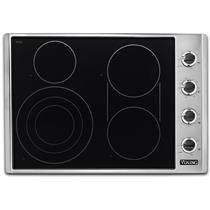 "viking 30"" Cooktop with QuickCookSurface Elements VECU53014BSB Images"