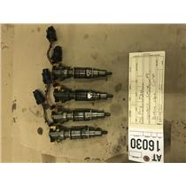 2005-2007 Ford F250/F350 6.0L powerstroke 4 core fuel injectors tag at16030