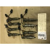 2005-2007 Ford F250/F350 6.0L powerstroke 8 core fuel injectors tag at16050